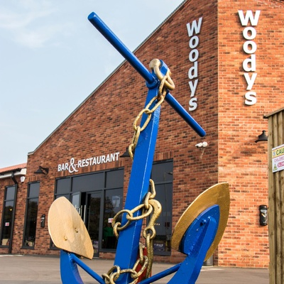 Woody's Bar With Anchor